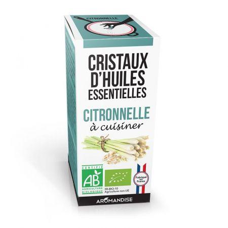 Био етерични кристали - Цитронела