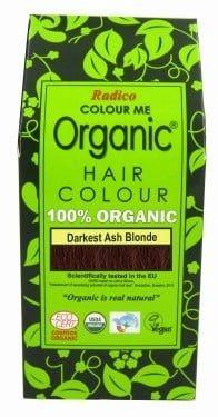 Билкова боя за коса - най-тъмно пепелно русо - Radico