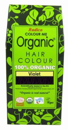 Билкова боя за коса - виолетово - Radico