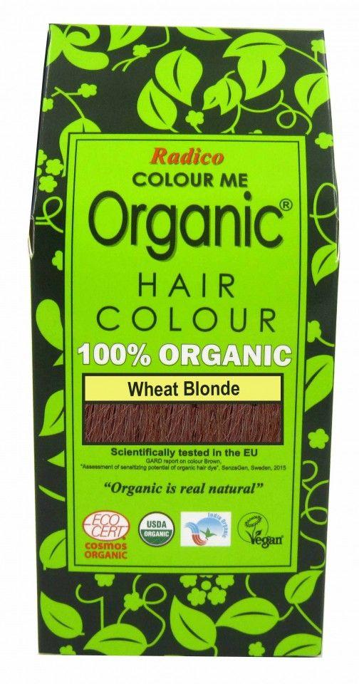 Билкова боя за коса - пшенично русо - Radico