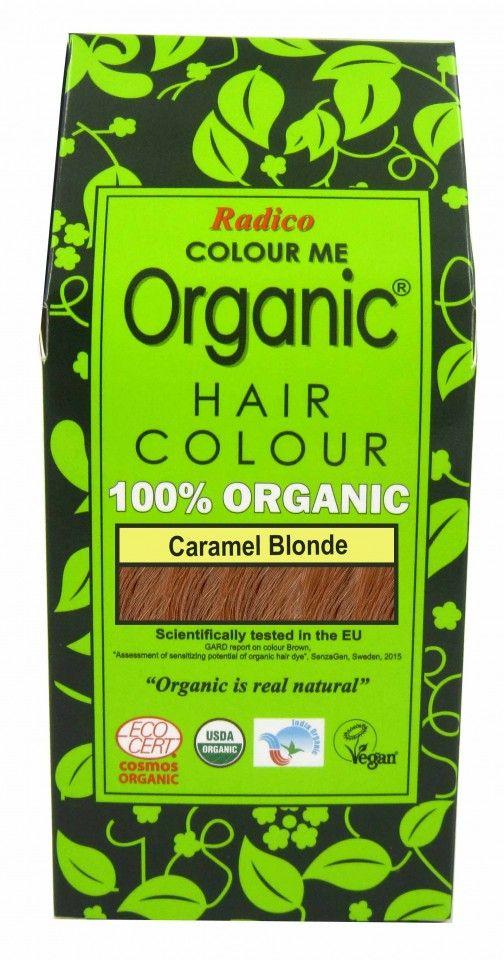 Natural Hair Dye - Caramel Blonde - Radico