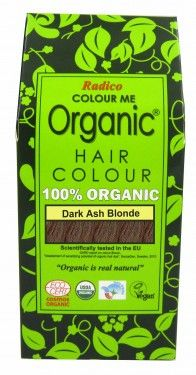 Билкова боя за коса - тъмно пепелно русо - Radico