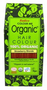 Natural Hair Dye - Strawberry Blonde - Radico