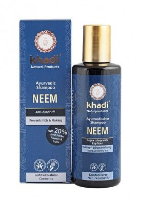 Khadi Organic Neem Anti Dandruff Shampoo – 210 ml